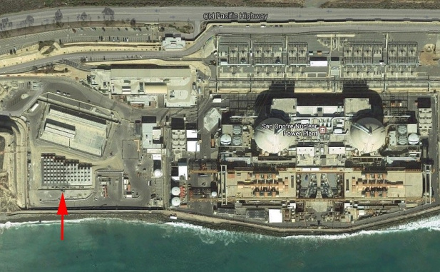 SoCal Edison's radioactive waste-dump-by-the-sea, in an earthquake and tsunami zone between L.A. and San Diego, in the midst of 8.5 million people.