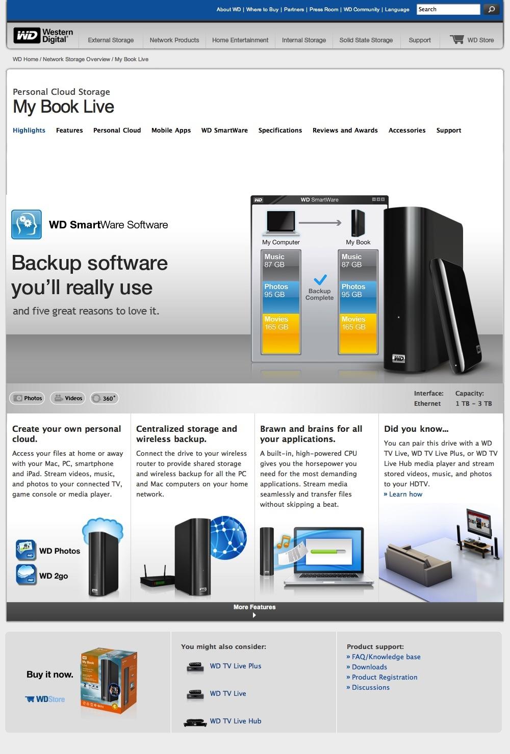 Western Digital SmartWare