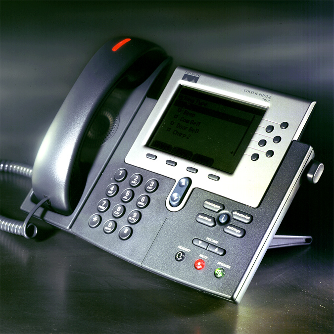 Cisco Telecaster 7960 VOIP phone:  Designing an iconic communication device.