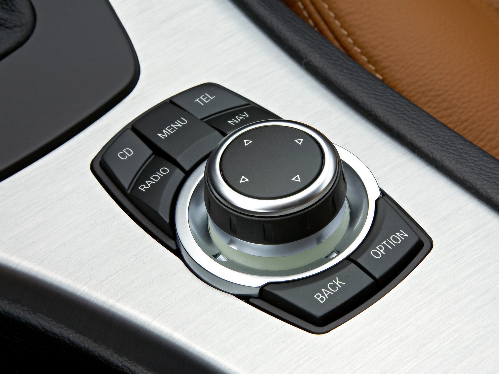 BMW iDrive redesign:  Easy access shortcut buttons accommodate both frequency of use and immediacy of access for main features.