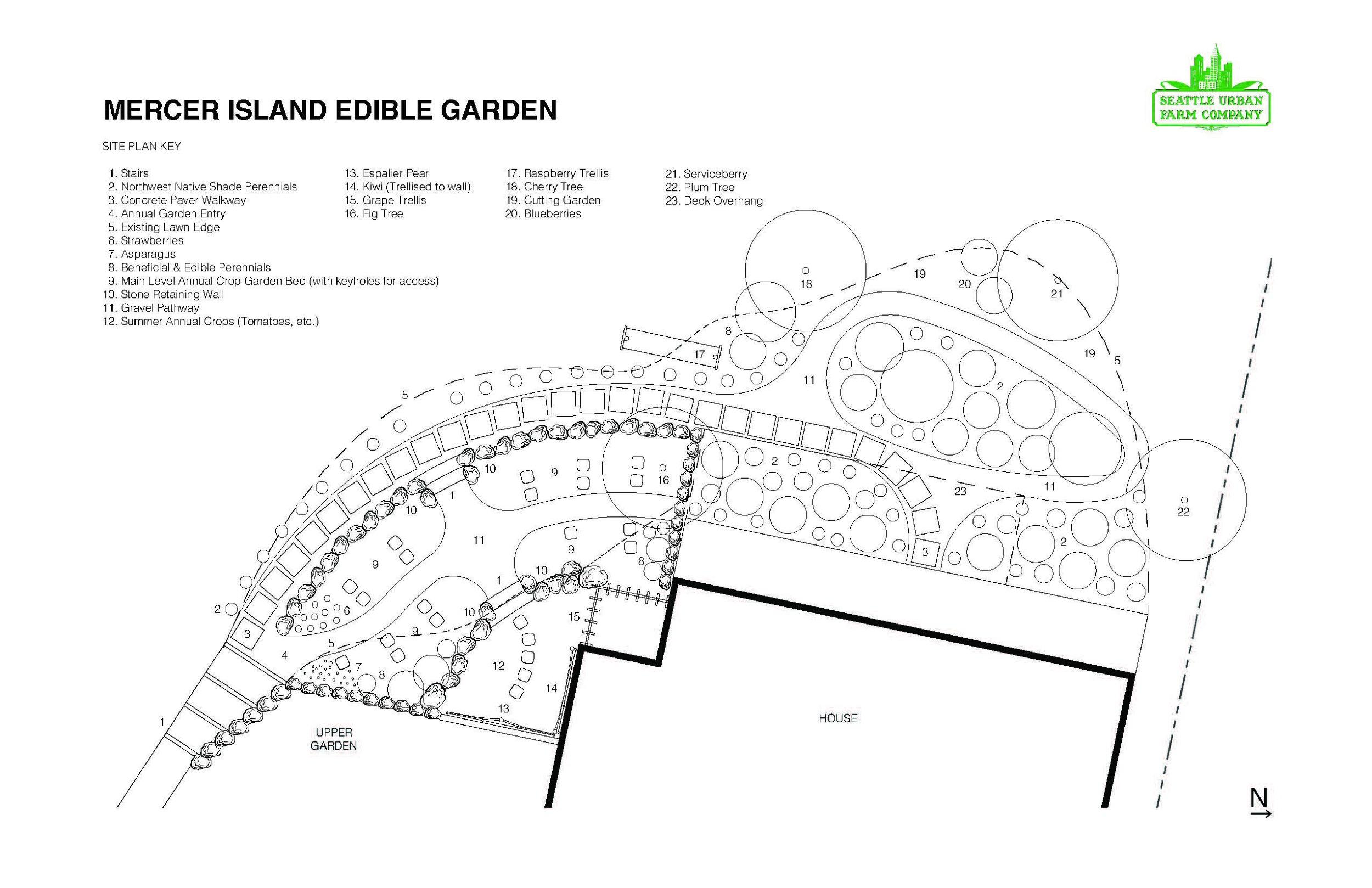 Mercer Island Edible Garden Design_Seattle Urban Farm Company