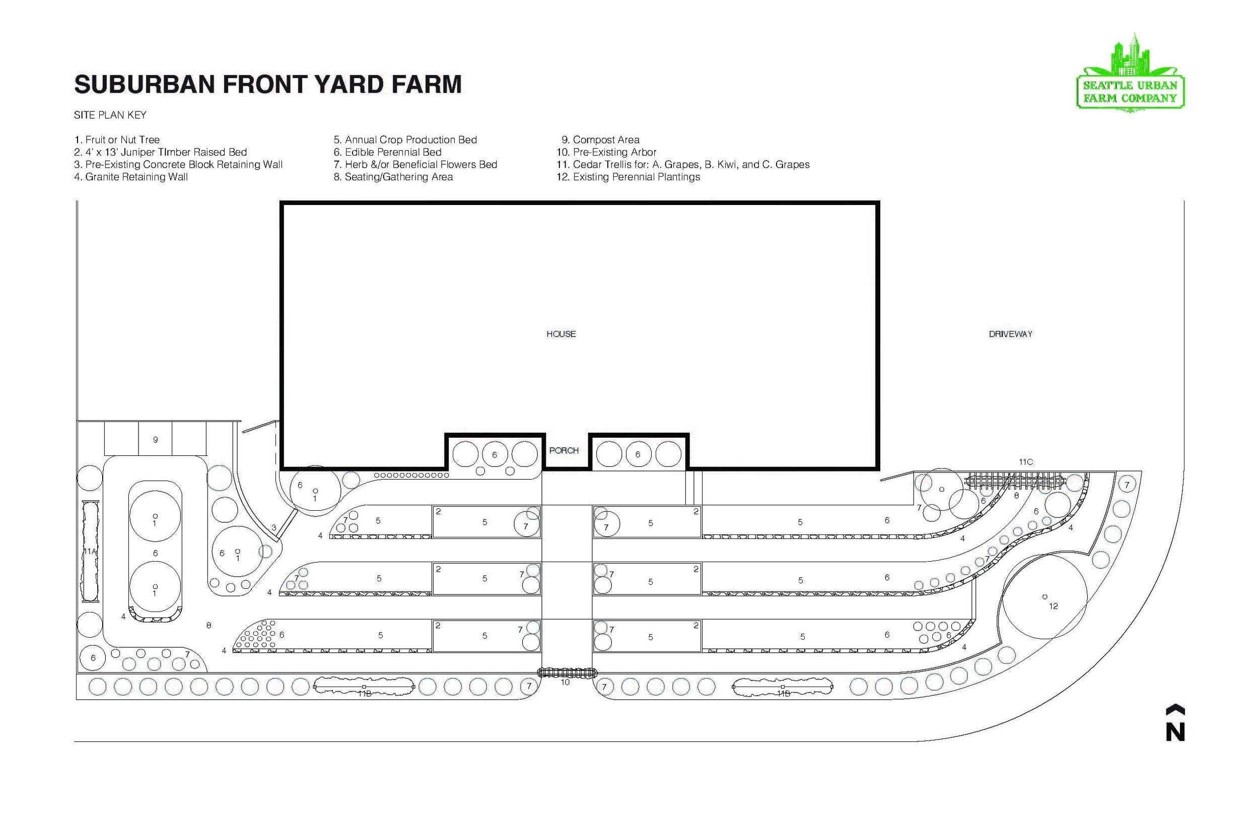 Suburban Front Yard Farm_Seattle Urban Farm Co.