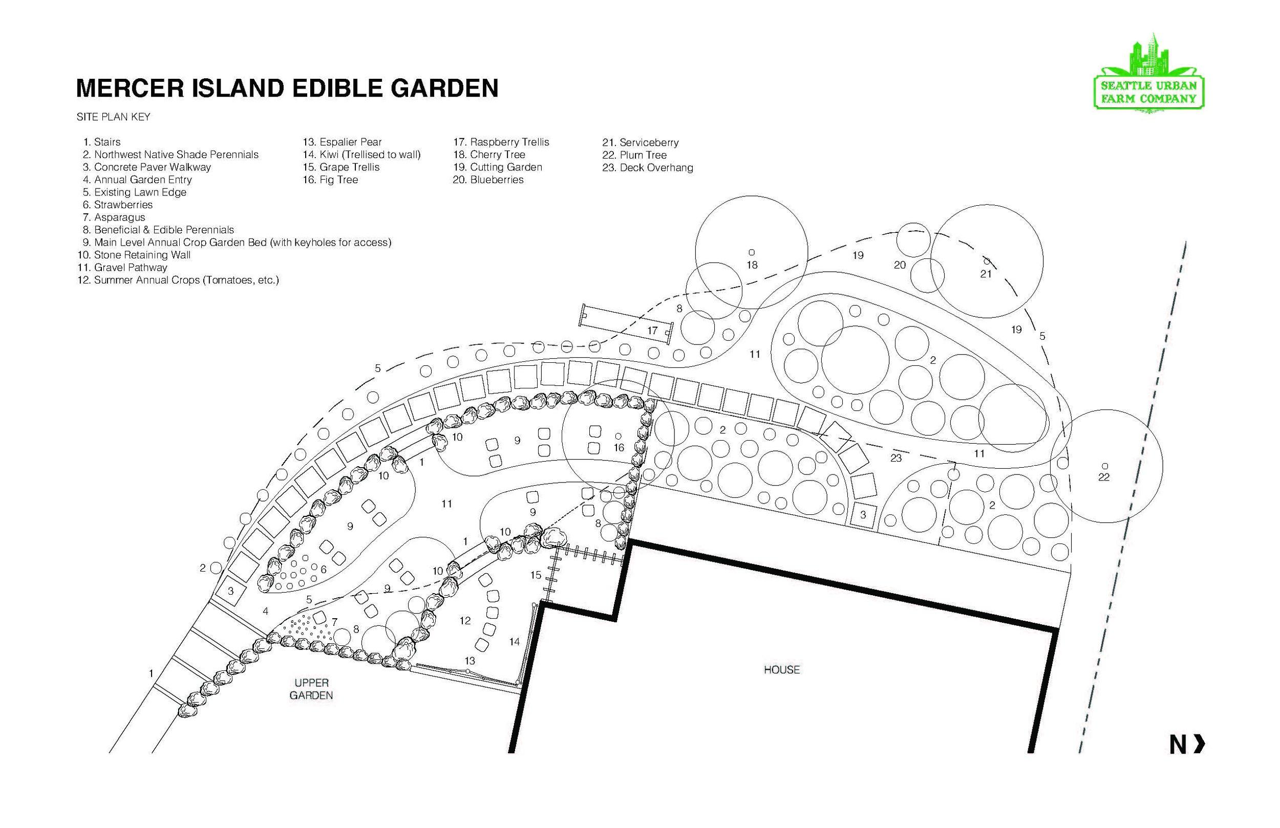 Mercer Island Edible Garden_Seattle Urban Farm Co.