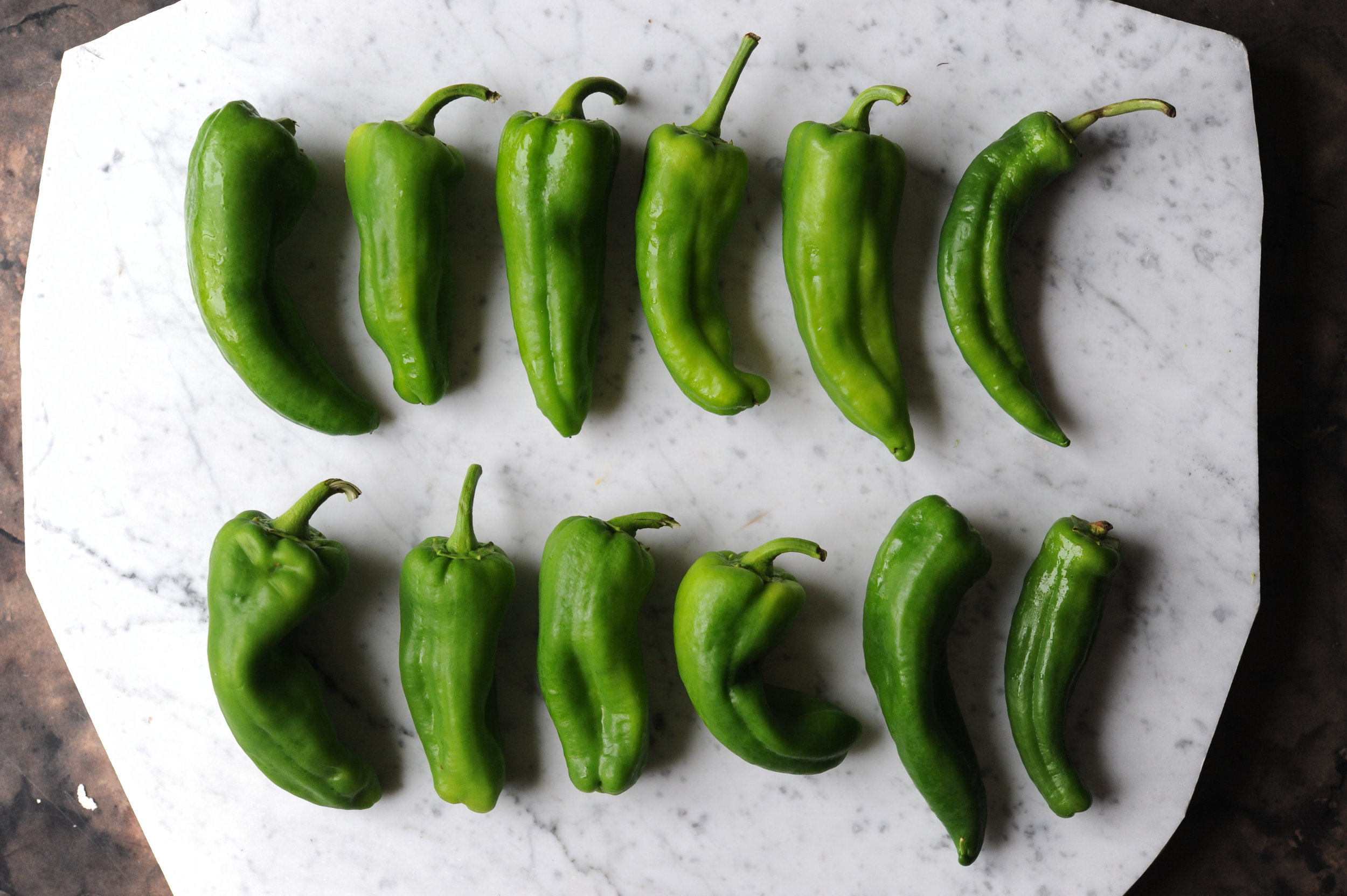 'Anaheim' peppers
