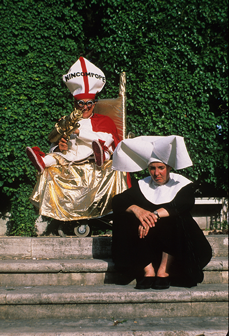 The Nincompope , from performance and film,  Roamin' Holiday: A View from A Broad , 1999