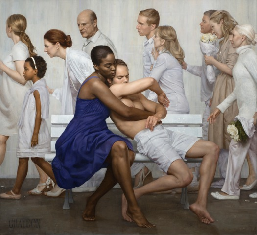 Pieta by Graydon Parrish