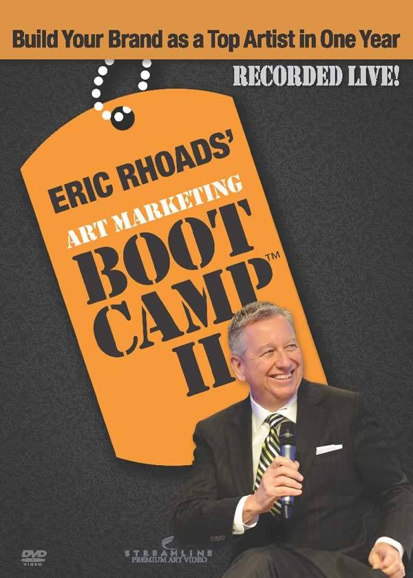 Cover of Eric's Marketing Boot Camp II dvd