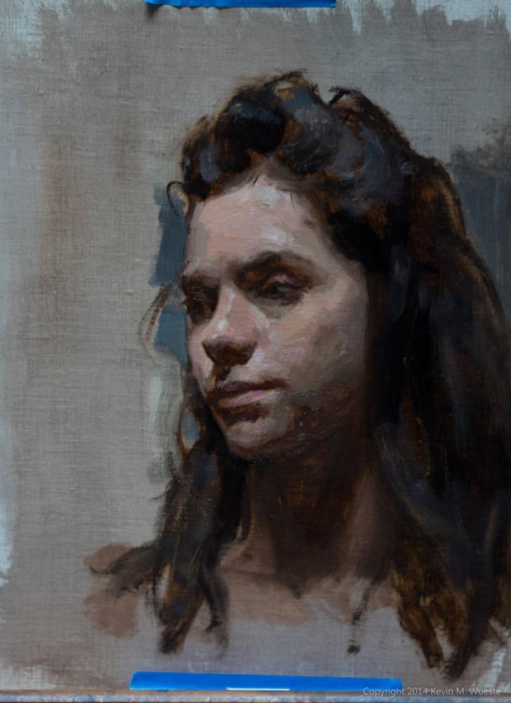 Portrait Sketch by Kevin Wueste