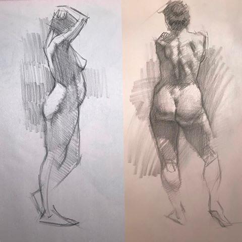 Figure Studies by Kevin Wueste