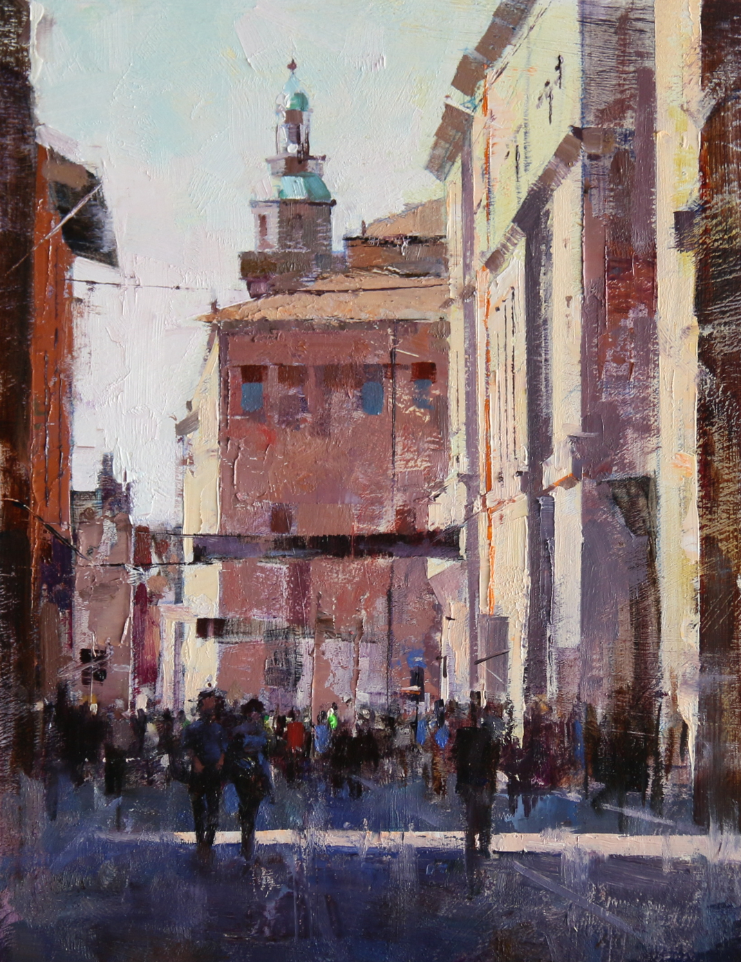 T Day in Bologna by Qiang Huang