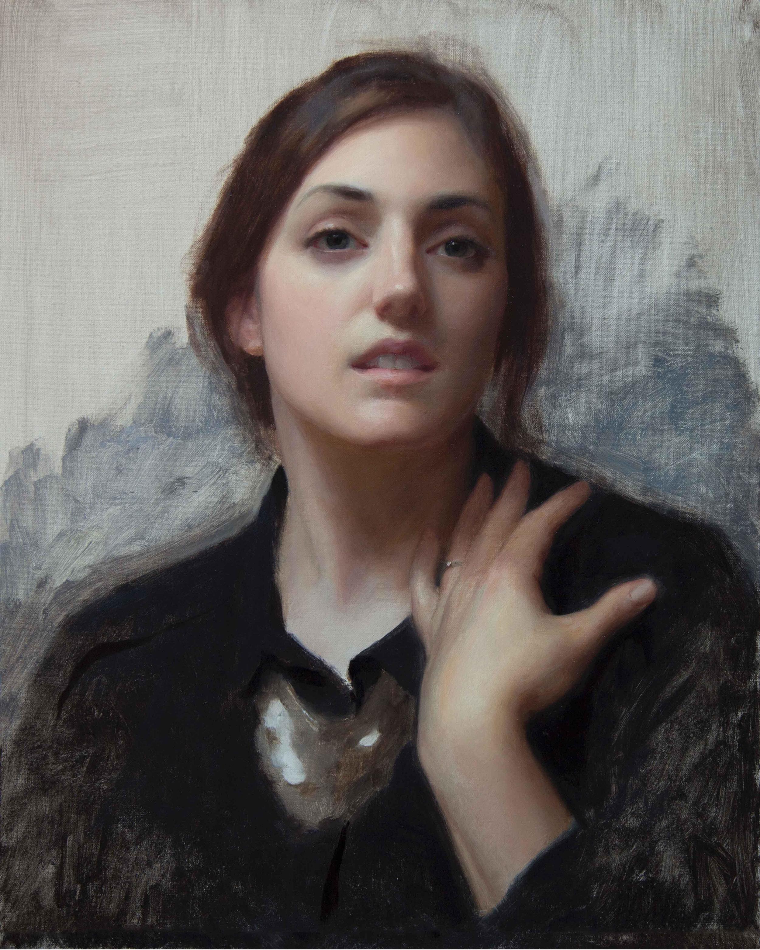 Laura in Black, 20 x 16, by Joshua LaRock