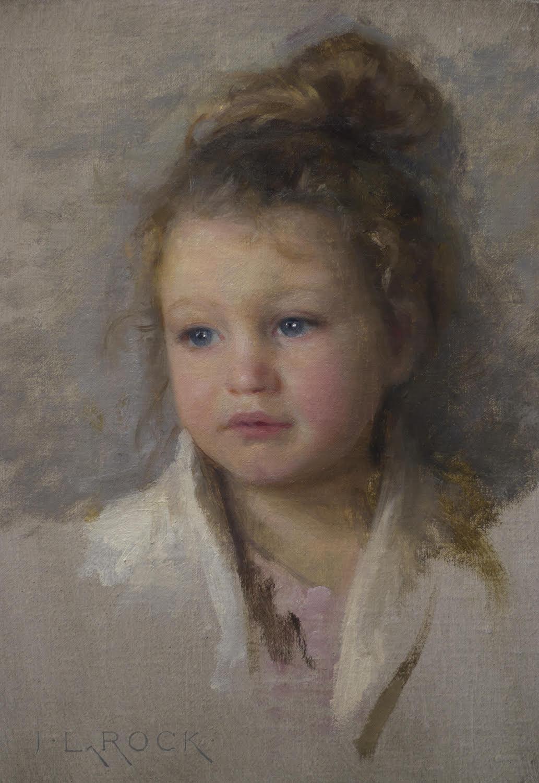 Aimée, 12 x 8, by Joshua LaRock