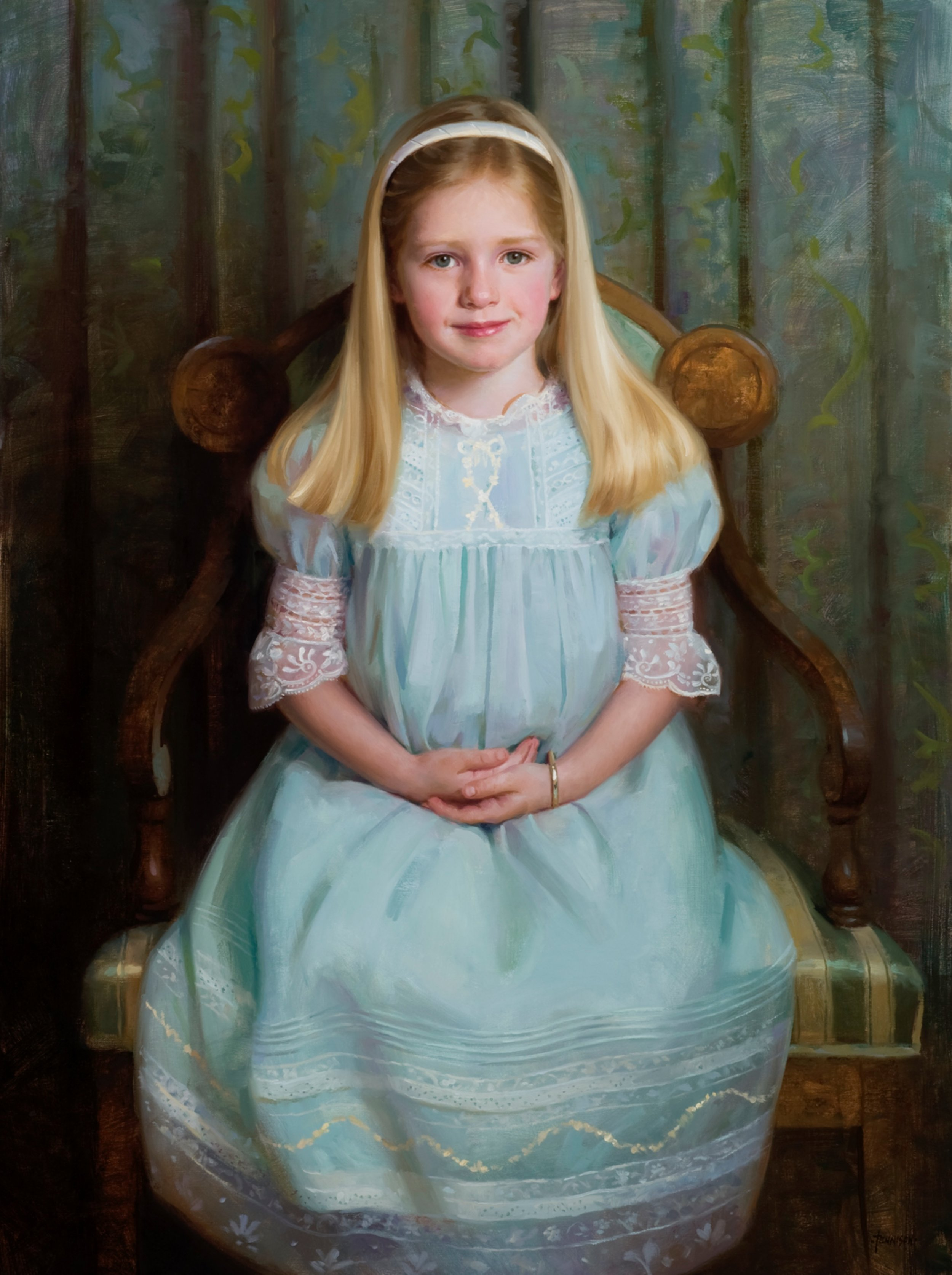 Marguerite, 40 x 30, by James Tennison