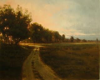 Morning Light, 24x30, by Deborah Paris