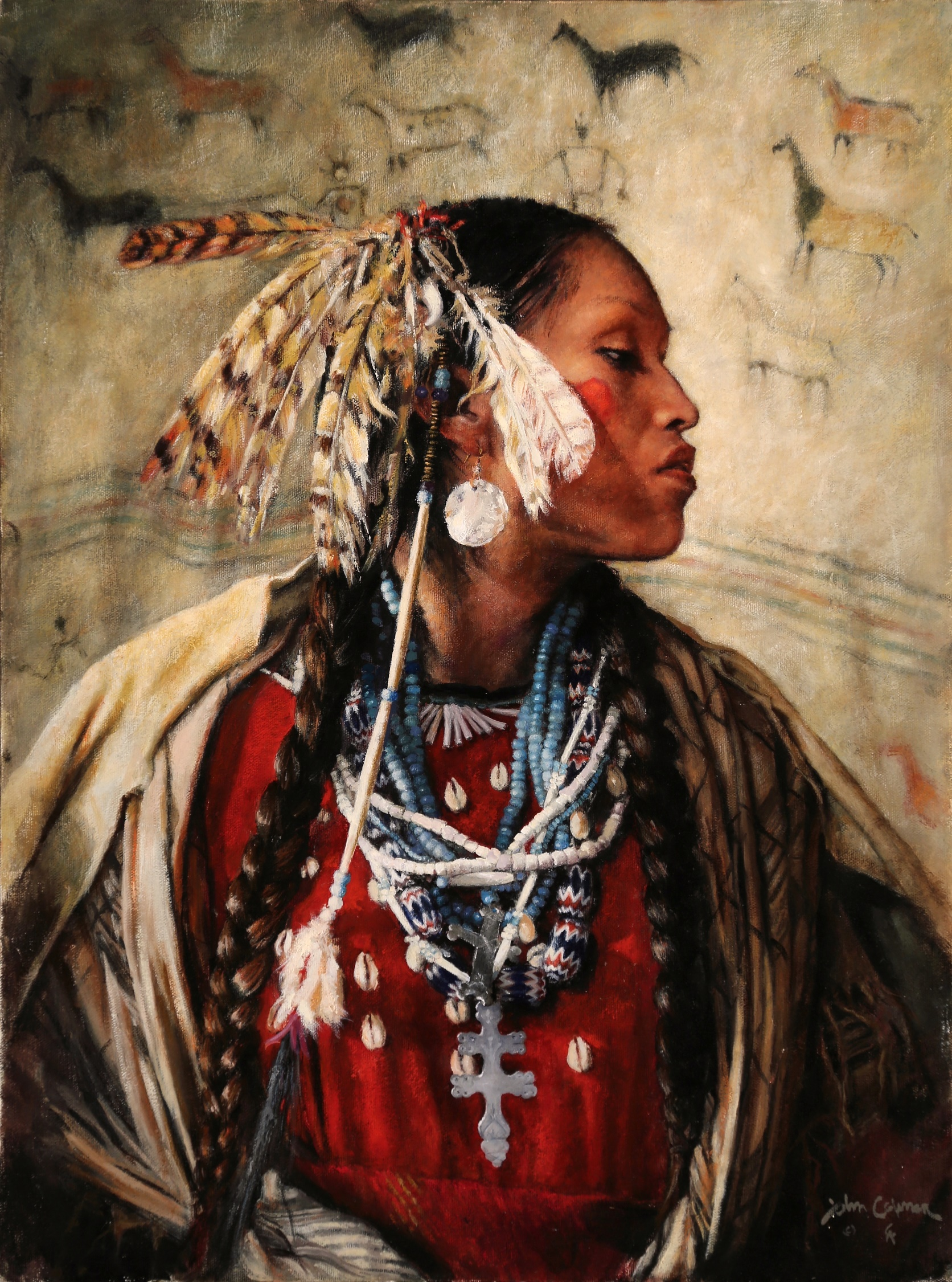 Unconquered by John Coleman, Oil