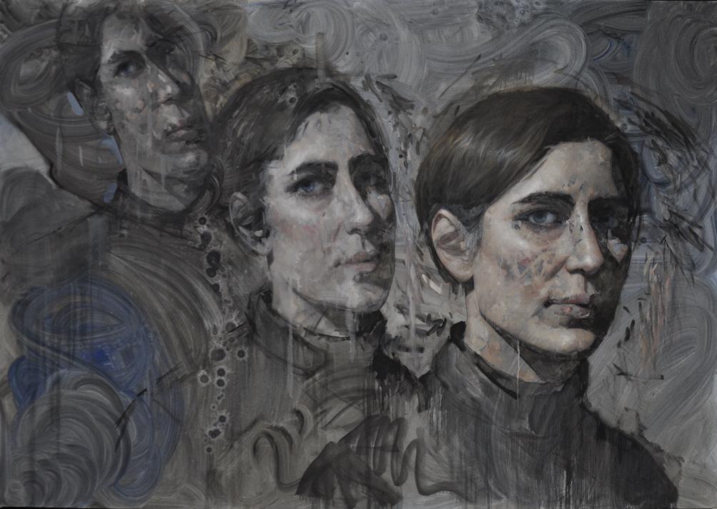 Frankenstein Konfidential, Lilo, 84 x 60, 2018 (Still in progress)