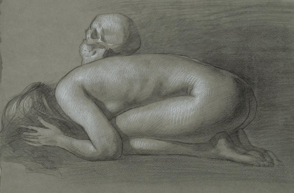 Memento Mori, 11 x 16, by Patricia Watwood