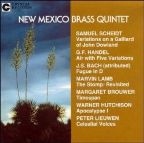 "- ""This recording receives the highest recommendation and should be in every brass player's library as soon as possible.""  -- TUBA Journal,  Spring 1992   - ""Margaret Brouwer's perfectly-proportioned 'Timespan' is a marvelous example of musical imagery. Its eerie second movement, 'Ancient Calls,' is the high point of the disc. Repeated hearings reinforced my initial feeling that this is some of the best music ever written for brass quintet."" - American Record Guide,  March/April 1992"