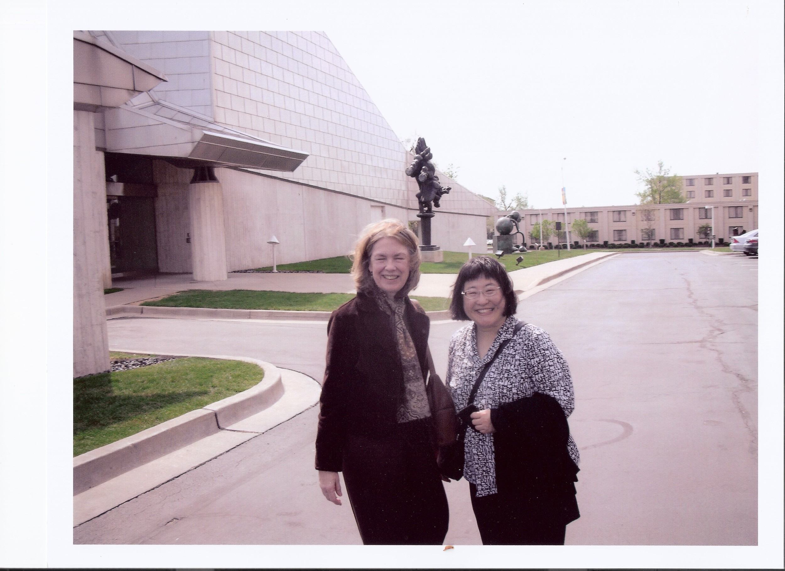 Chen Yi and Margaret Brouwer at University of Missouri - Kansas City