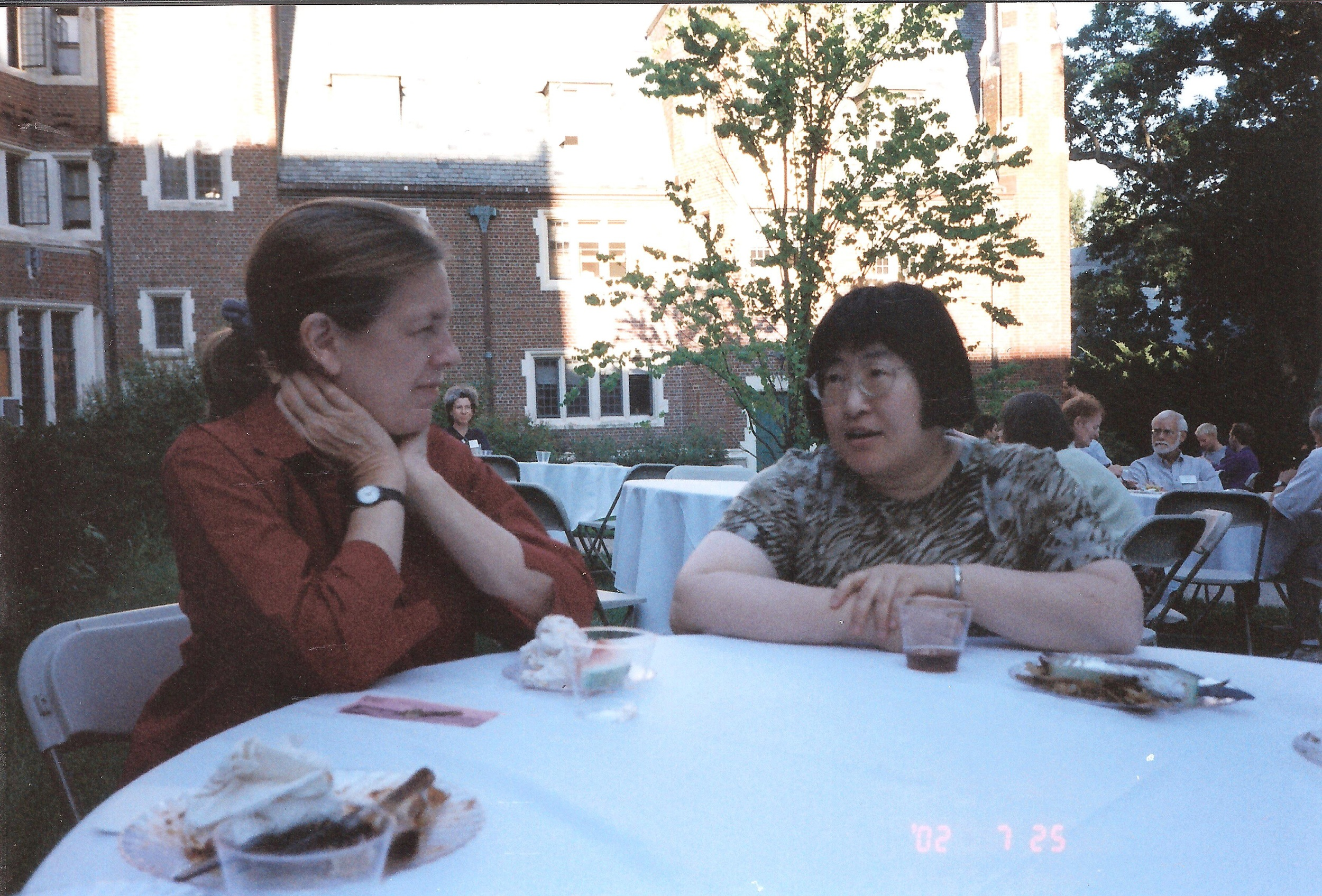 Margaret Brouwer and Chen Yi during their residency at University of Missouri Kansans City