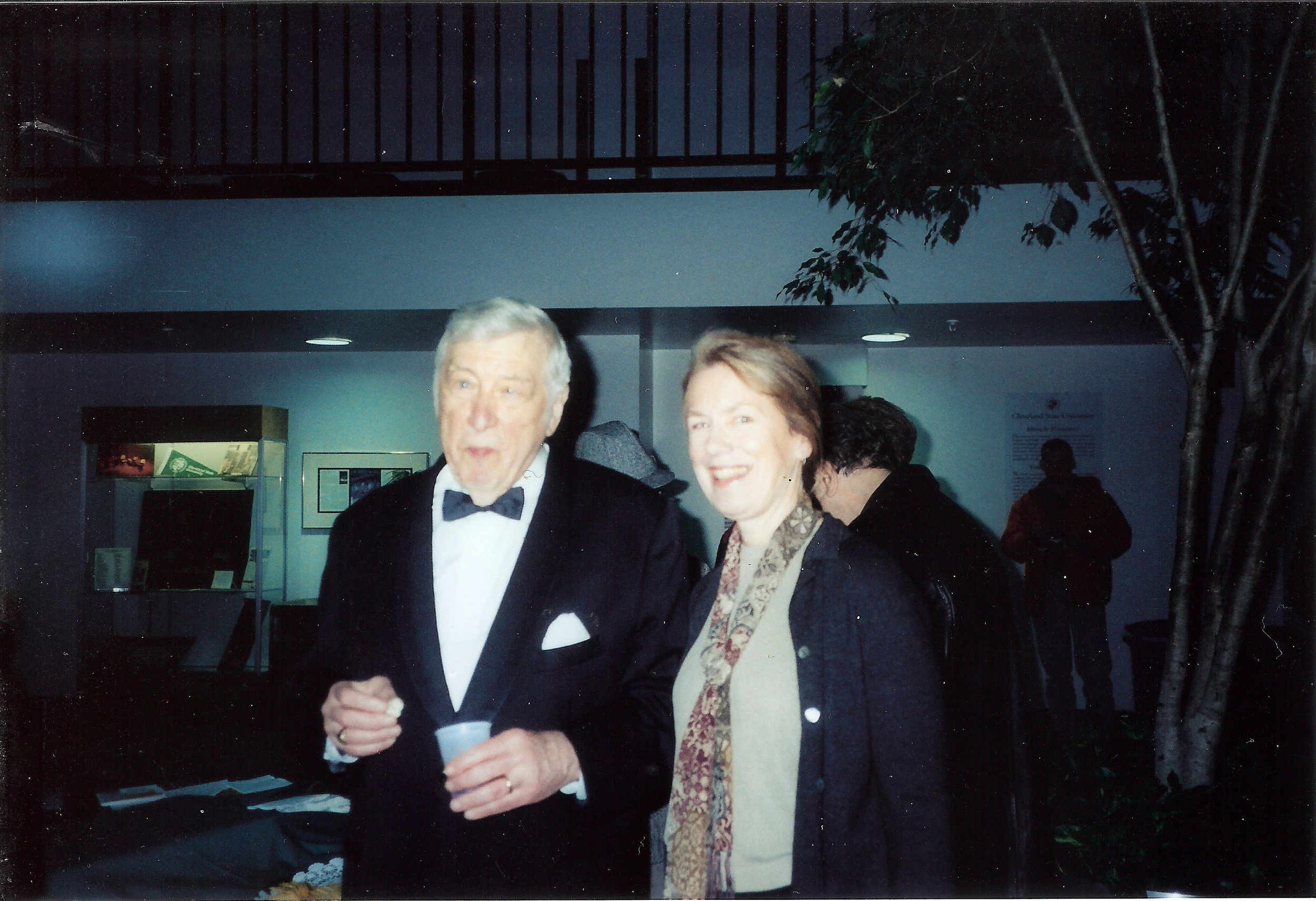 Margaret with Gunther Schuller