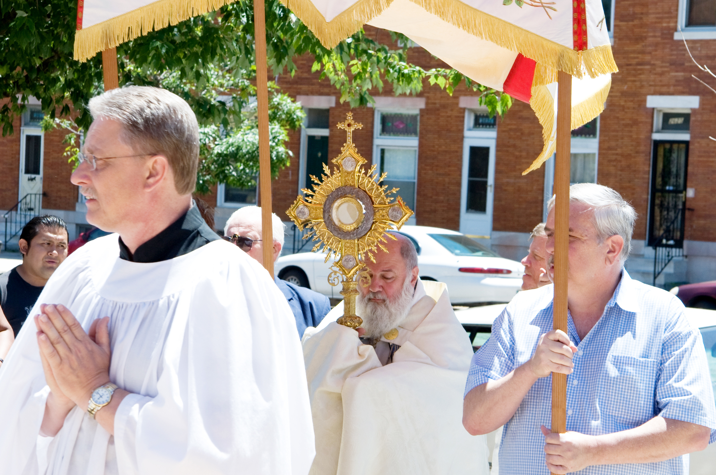 Procession for the Feast of Corpus Christi