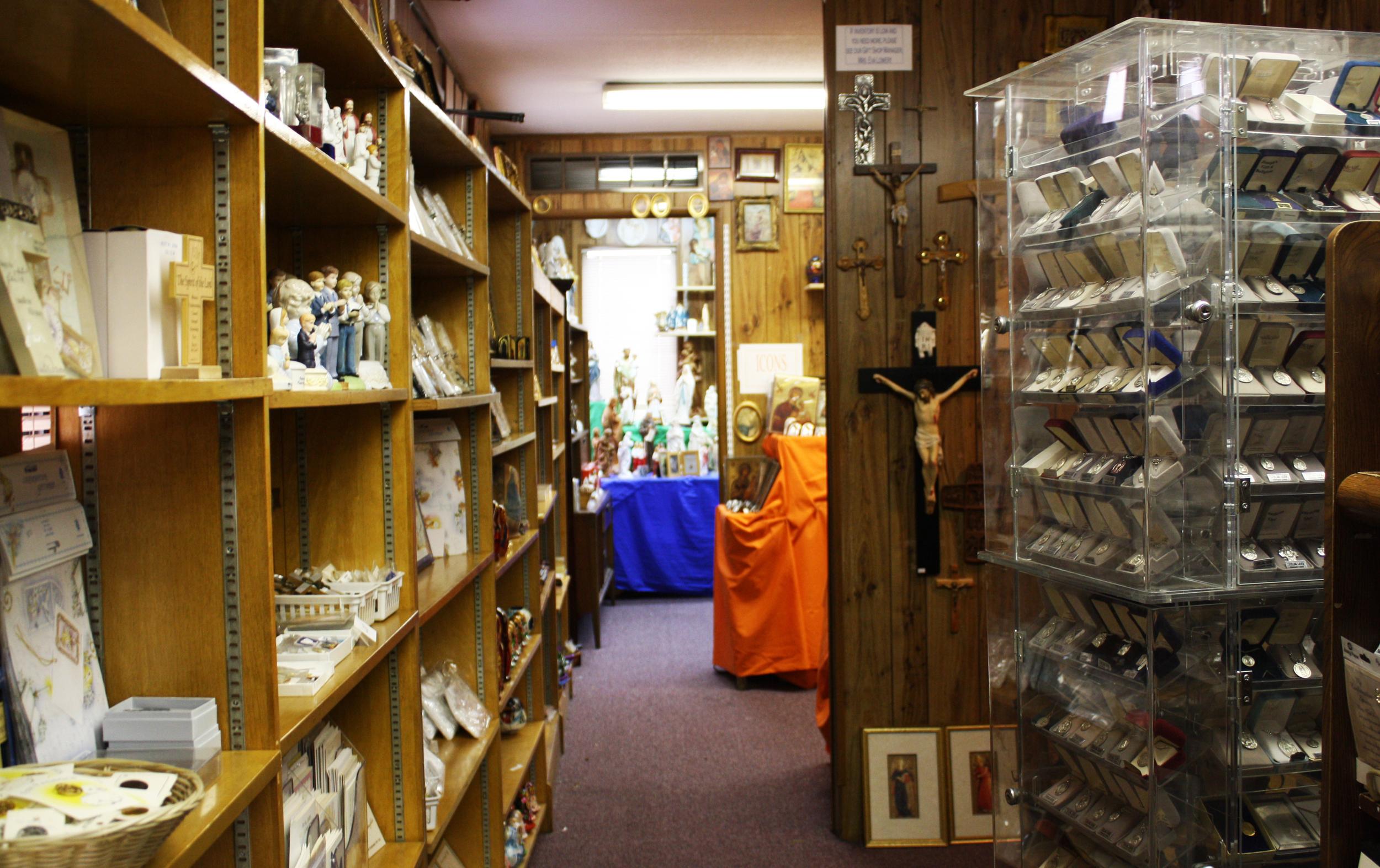 A Spacious Gift Shop