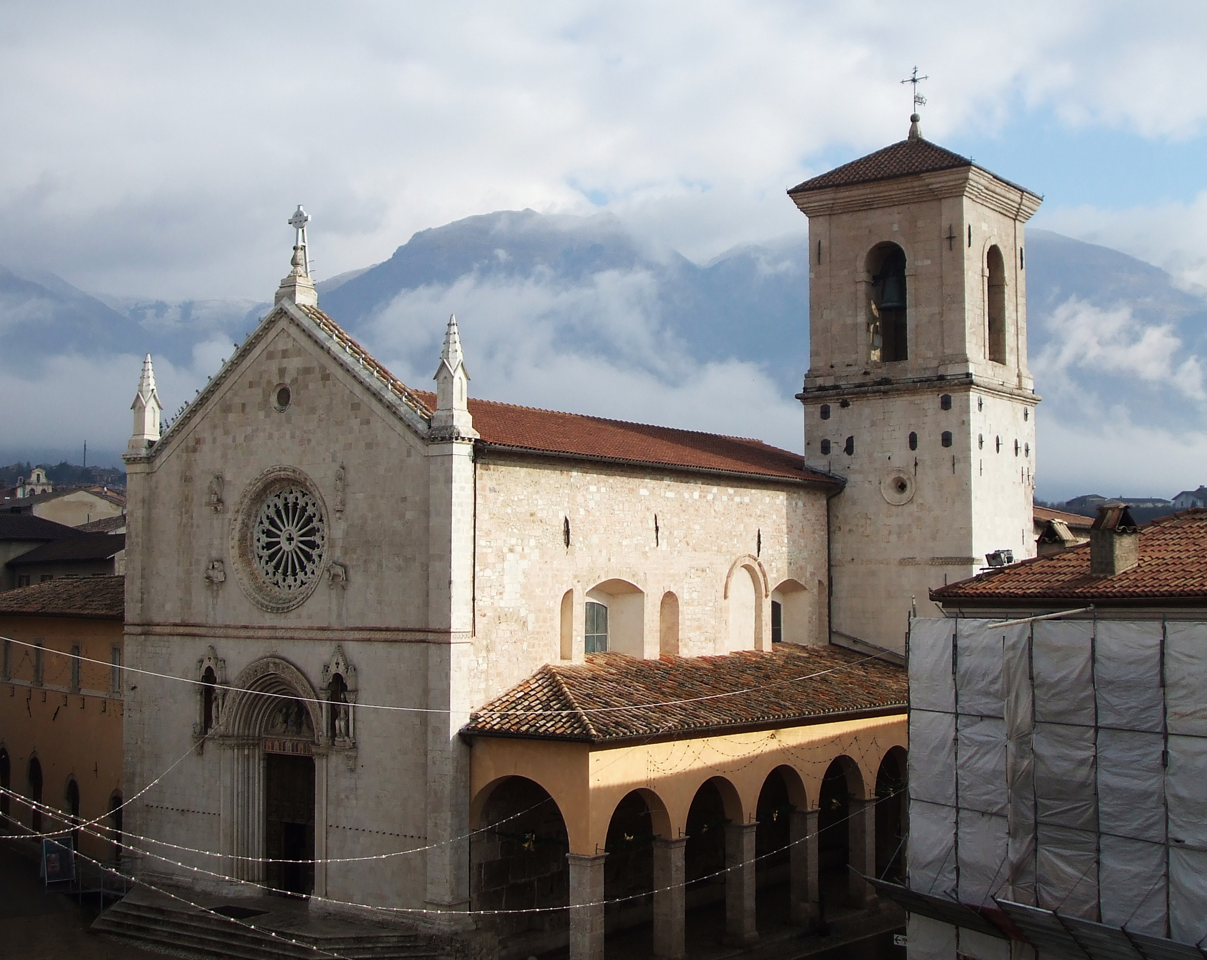 San Benedetto Church, Norcia — The Birthplace of Saint Benedict