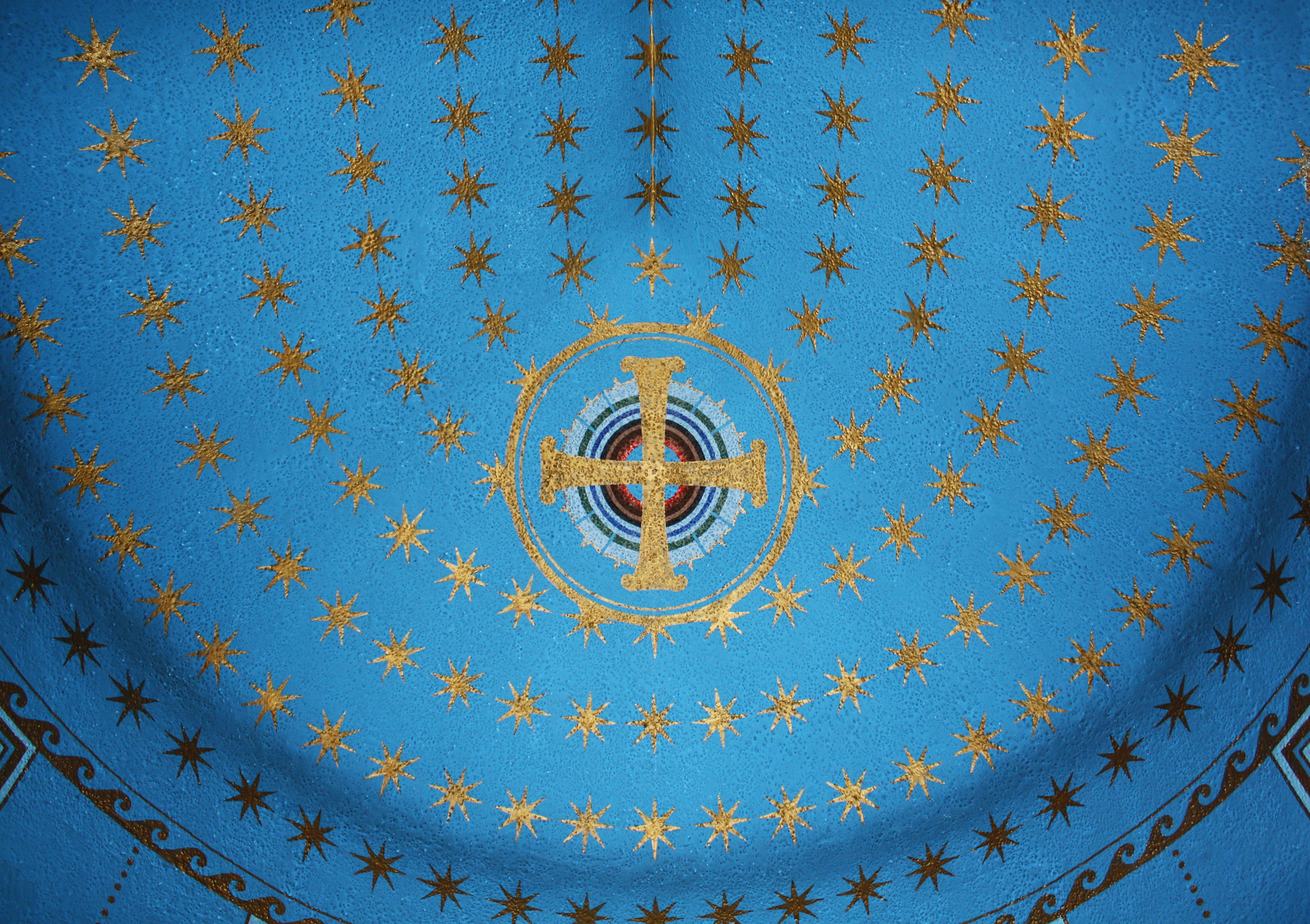 Eastern Chapel Ceiling