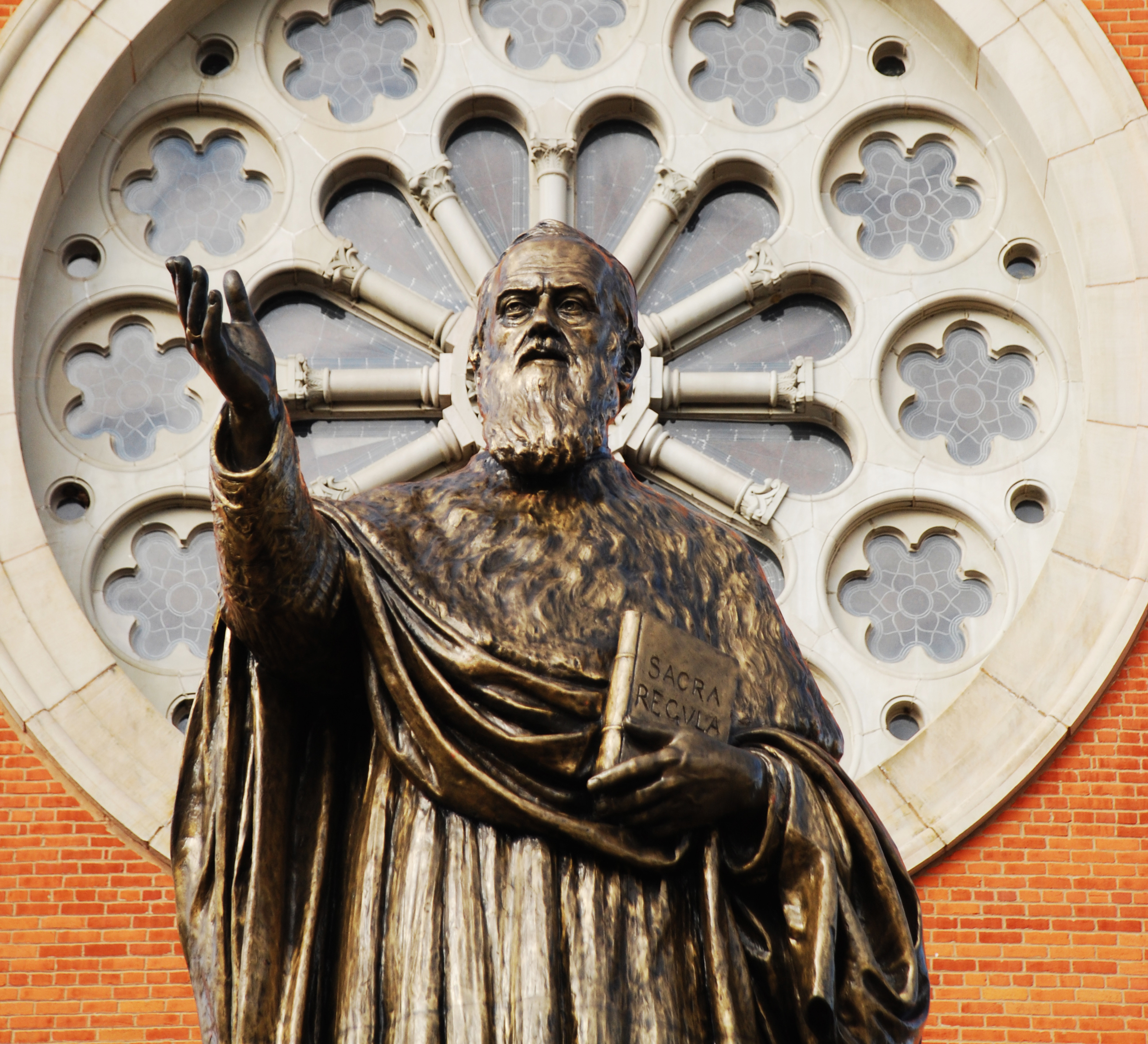 Wimmer Statue at the Saint Vincent Archabbey Basilica
