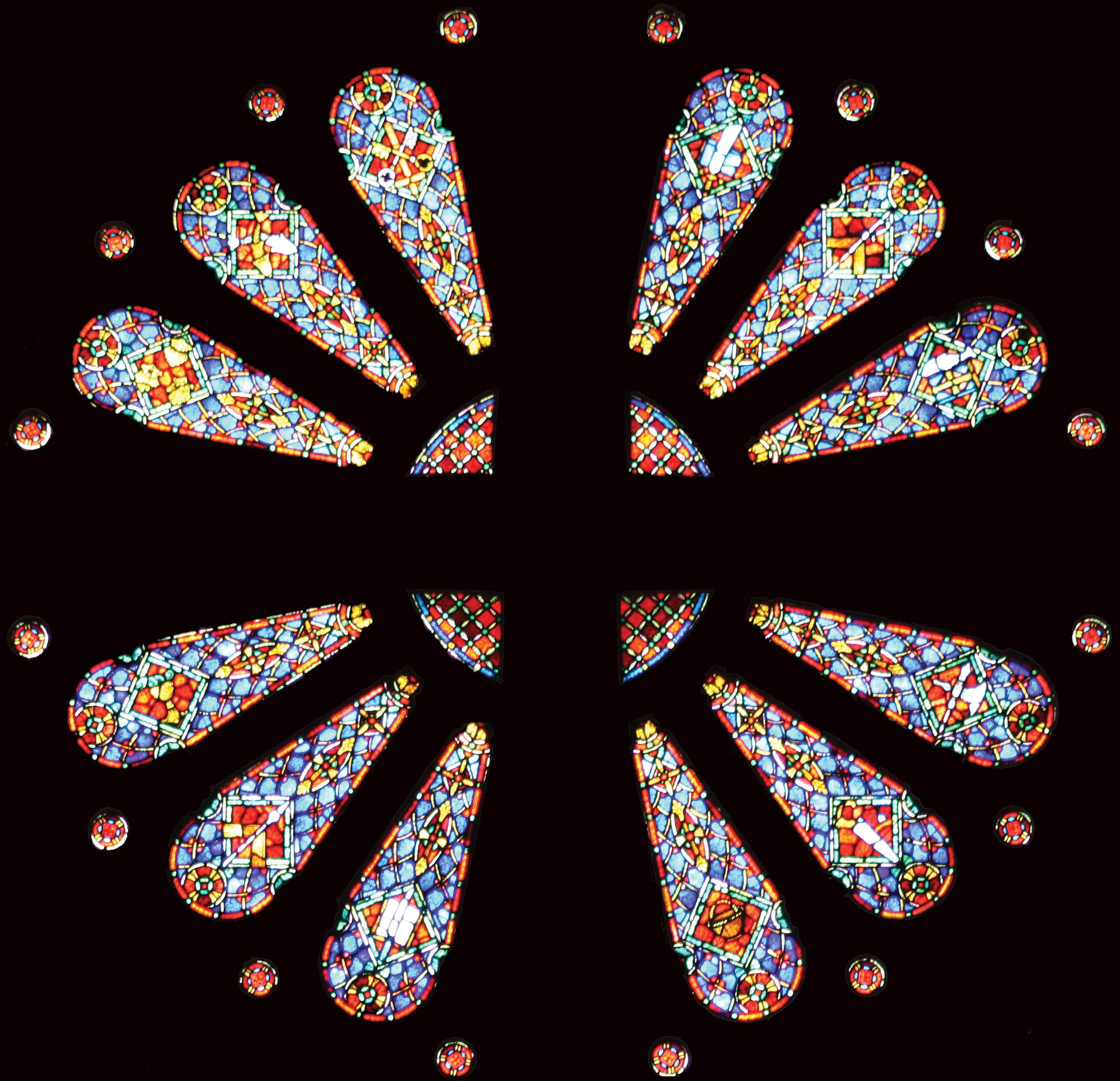 Wheel Window of the Twelve Apostles