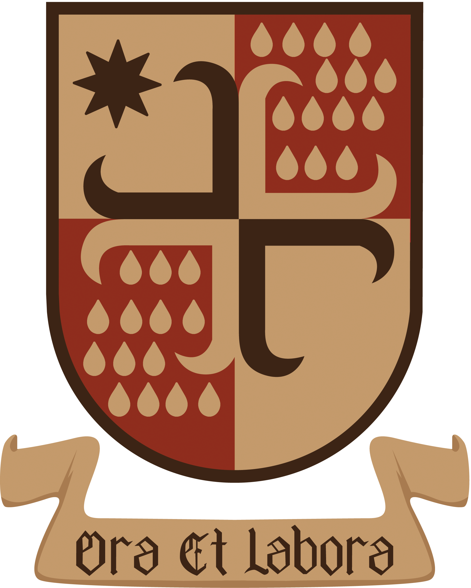 Saint Benedict Church's Coat of Arms