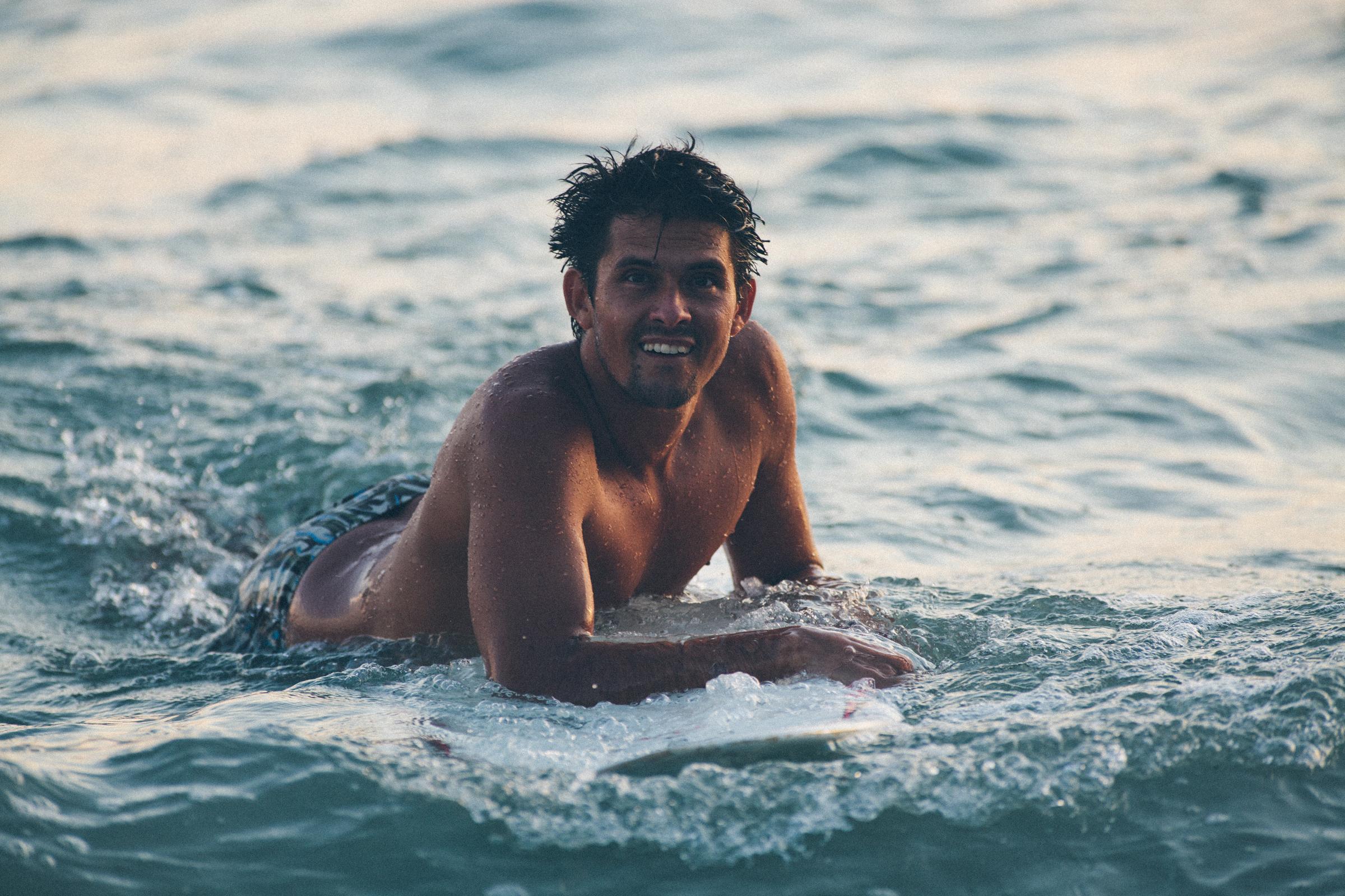 Kalle Carranza | Manager/ Creative Director/ Instructor, Lunazul Surf School | Sayulita