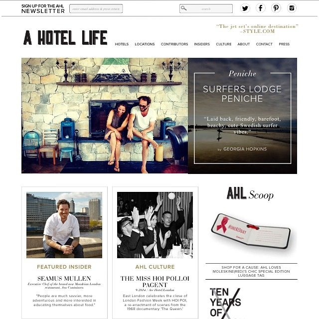 A Hotel Life |  Surfers Lodge Peniche  | October 2014.
