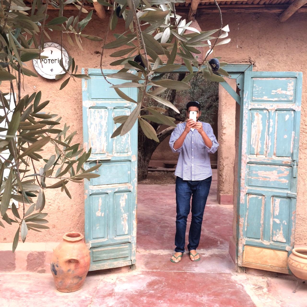 kamal laftimi | owner,  c  afé des épices  //  le jardin  //  nomad  | marrakesh.