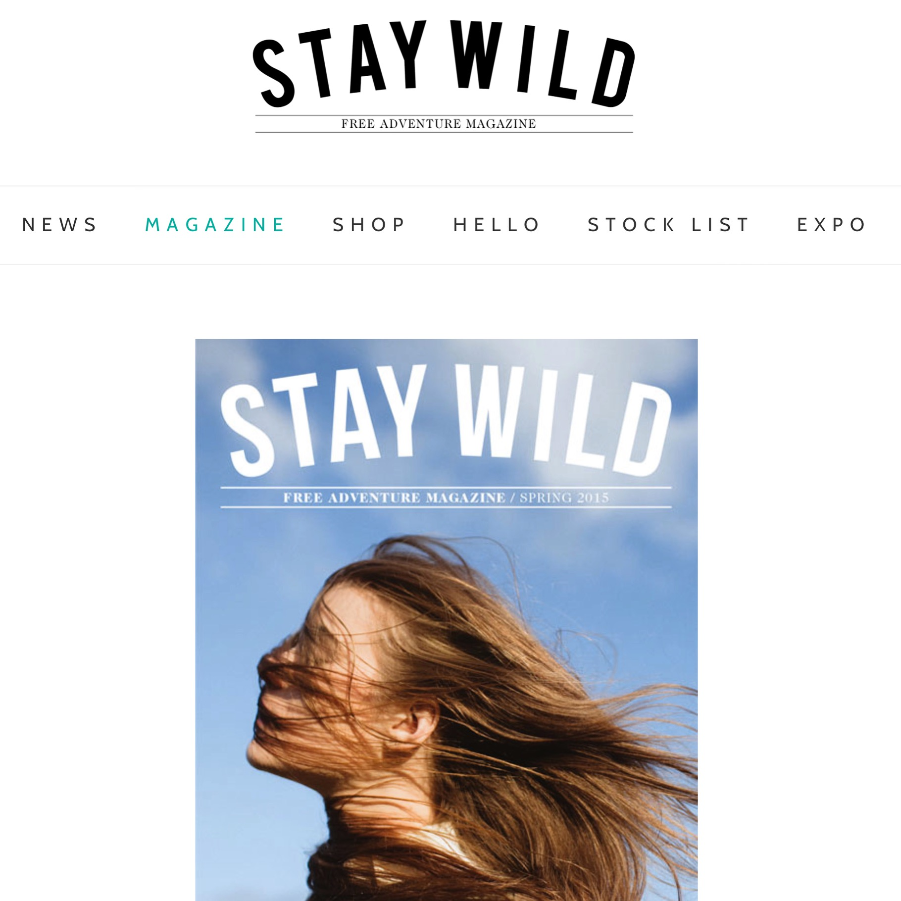 stay wild magazine |  dome sweet dome  | spring 2015.