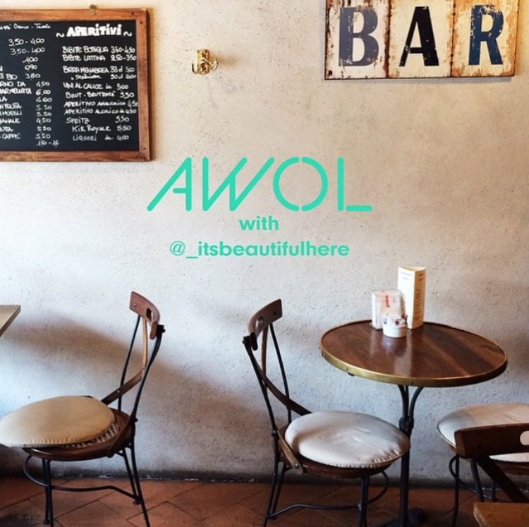 awol |  milan cafes  | april 2015.