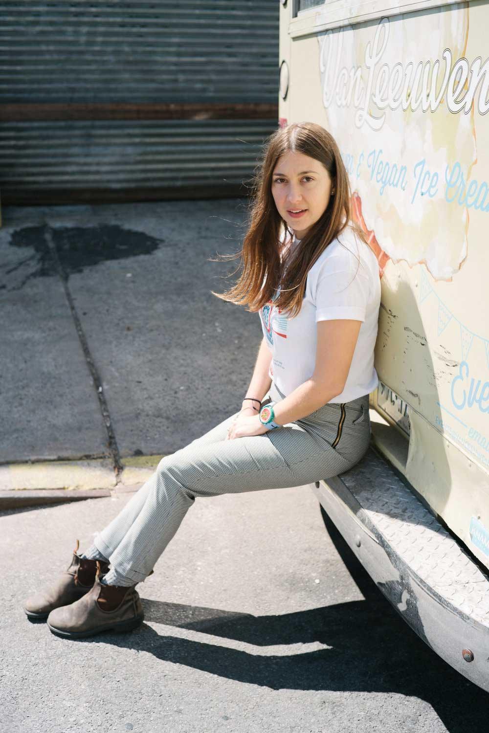 laura o'neill | co-founder, van leeuwen ice cream // laura + greg | on greenpoint, brooklyn.