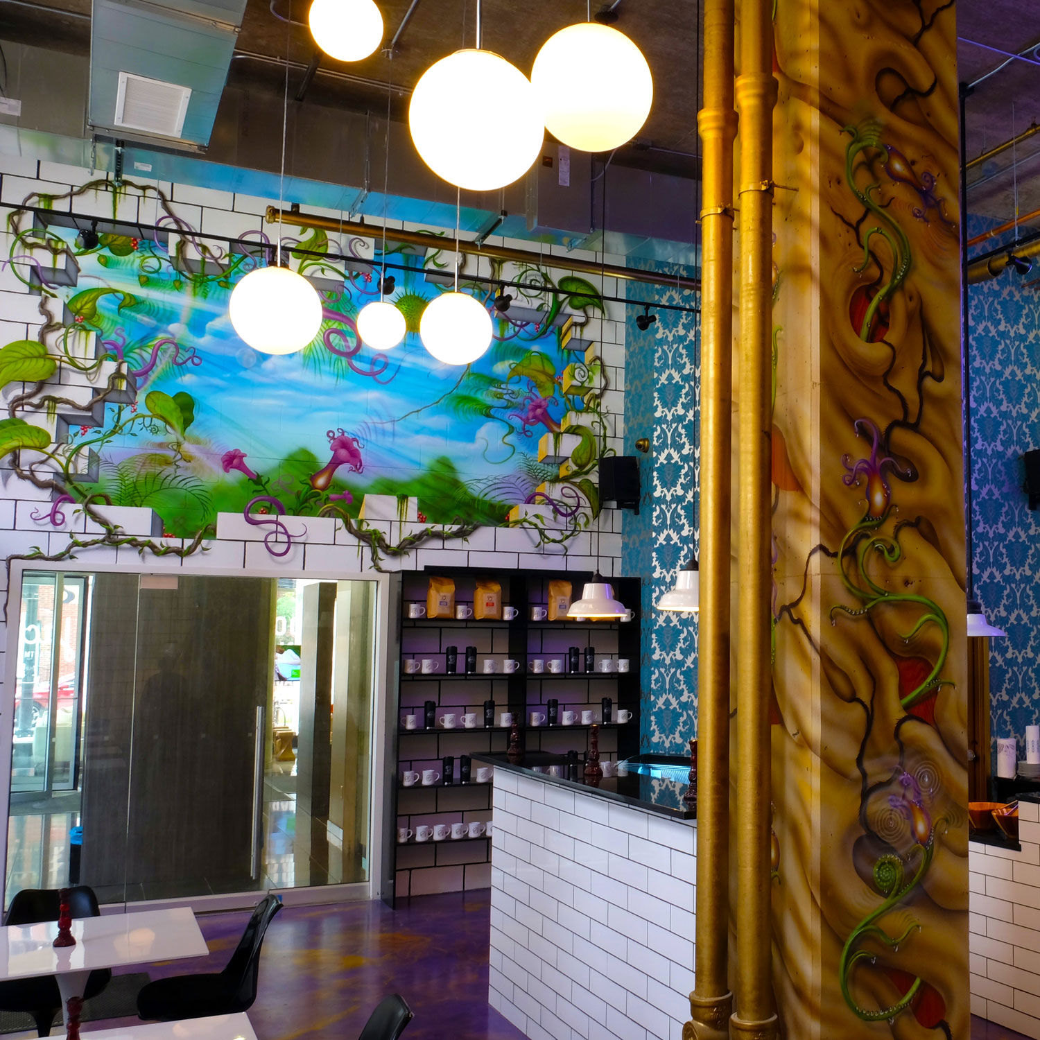 Murals at Meddle