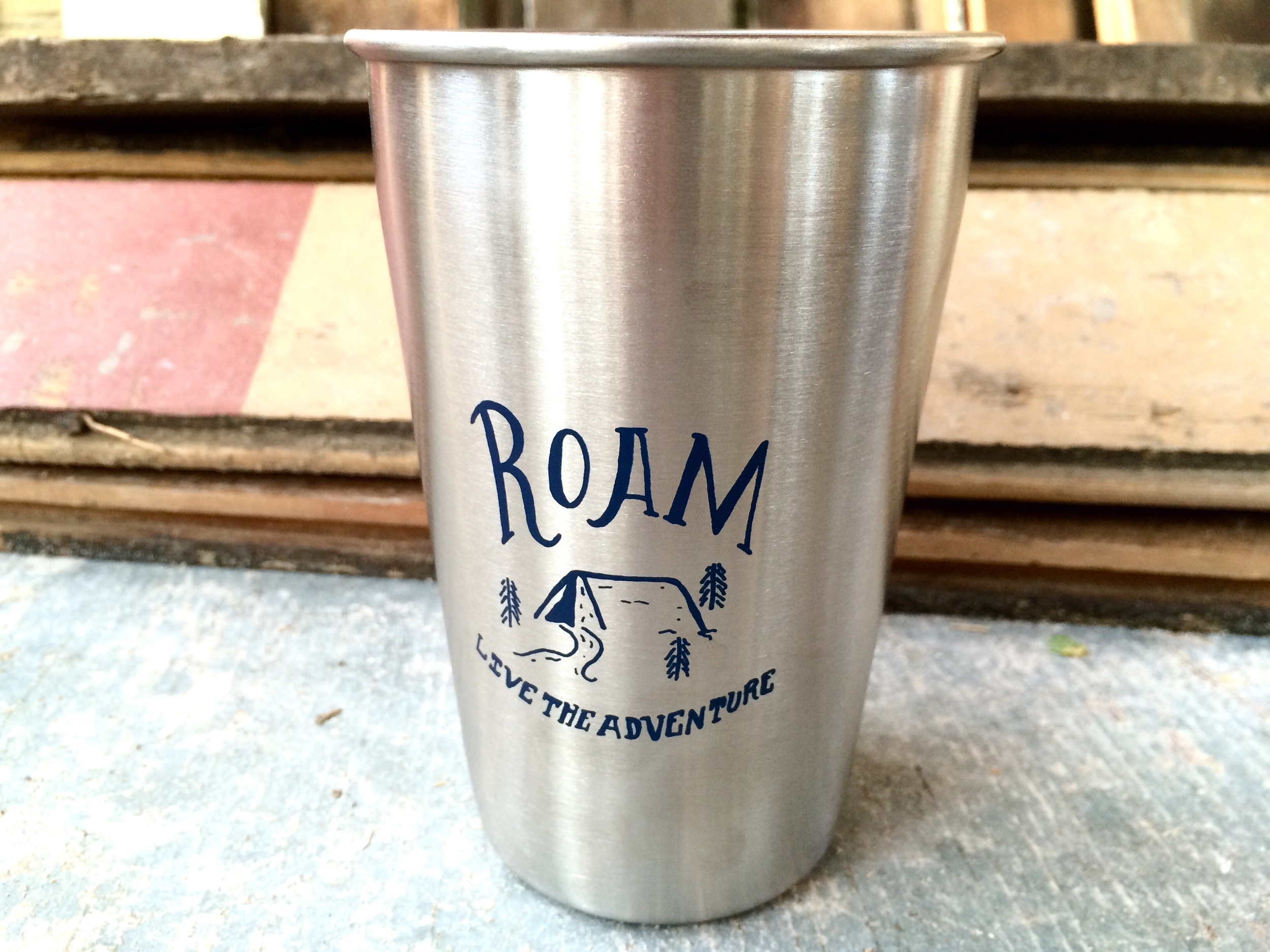 The Roam Steel Pint Cup