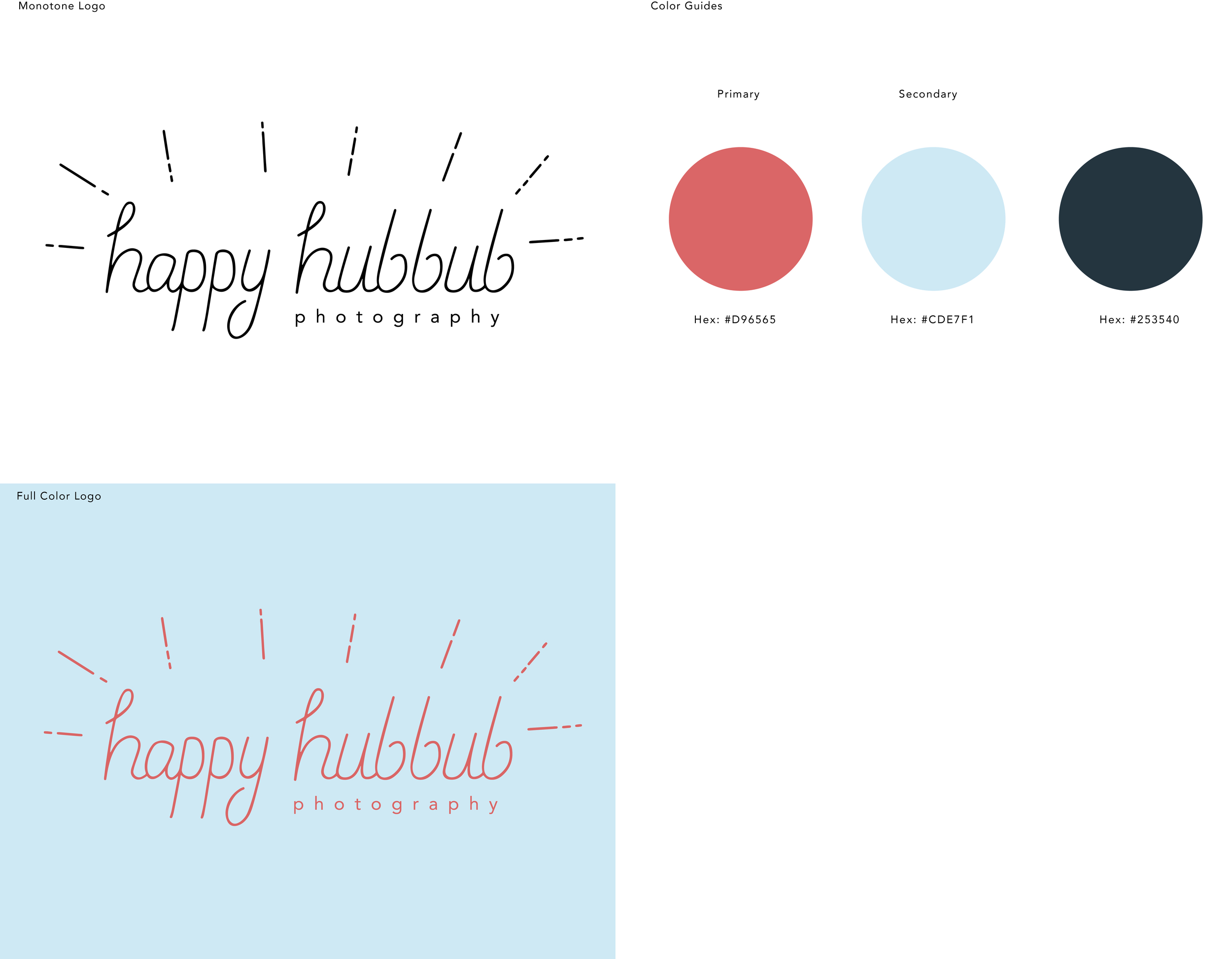 Happy Hubbub Brief Identity