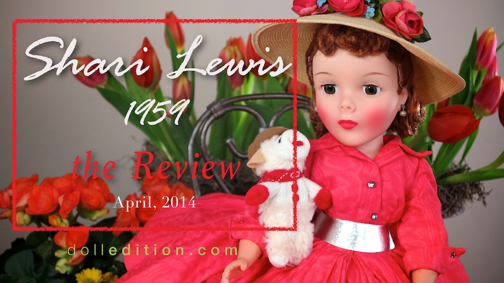 Shari Lewis - my new article in the April MADC   the Review  . Shari Lewis the 1959 doll featured a new mold and body.