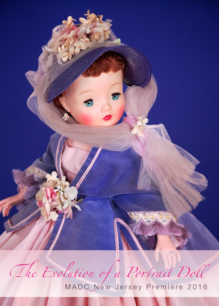 Cissy evolves from 1955-1959 as a fashion doll into a Portrait Doll in her final phase of 1960-1962.