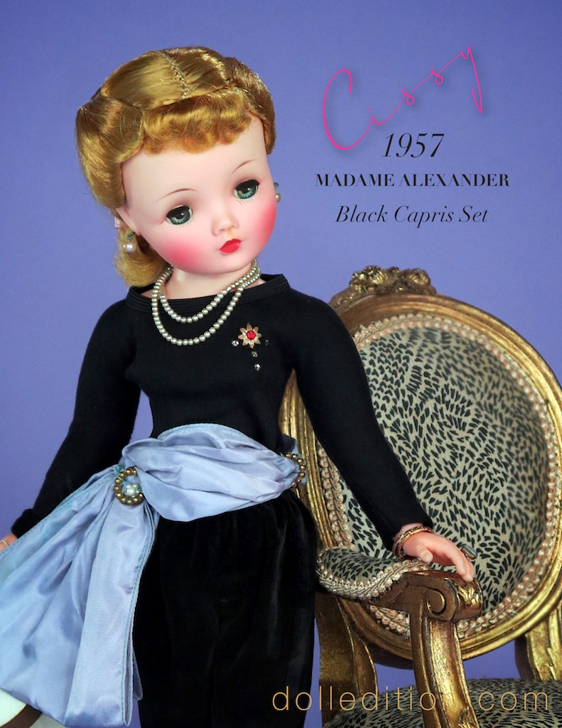 "Halter Top /& Pants Pattern 21/"" Cissy Madame Alexander"