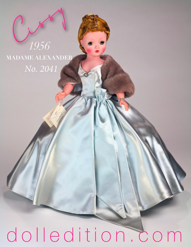 A stunning example of the work of Madame Alexander and her doll company — this doll, for whatever the reason(s) has spent its life in its box. It's been a great opportunity to study a doll virtually how it left the factory in 1956.