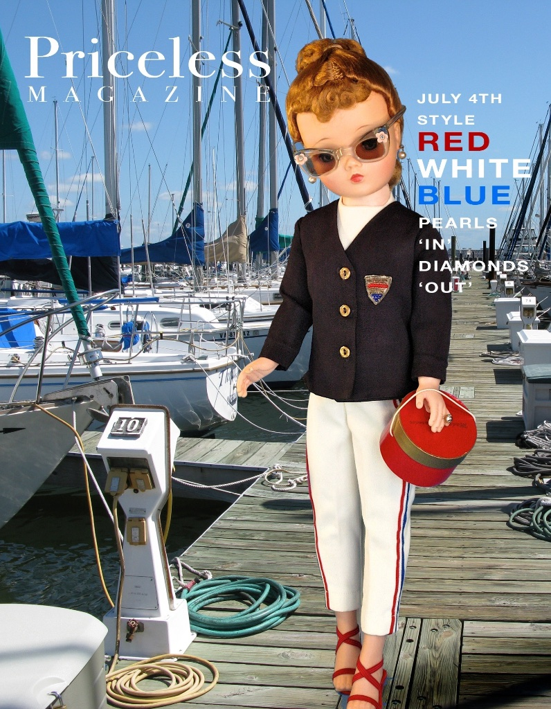 "I created ""Priceless Magazine"" for Cissy to model herself in her world... Cissy is ""Yachting"" at the Yacht Club."