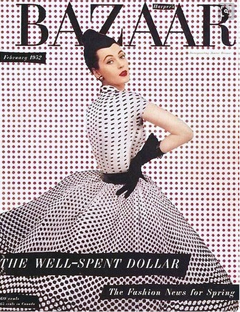 To say polka dots were just a mid-1950s fashion trend is an understatement!