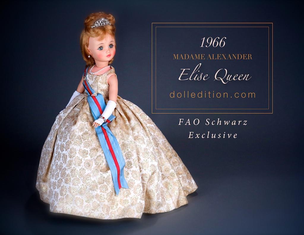"""""""Elise"""" Queen - 1966 FAO exclusive... a very rare doll."""