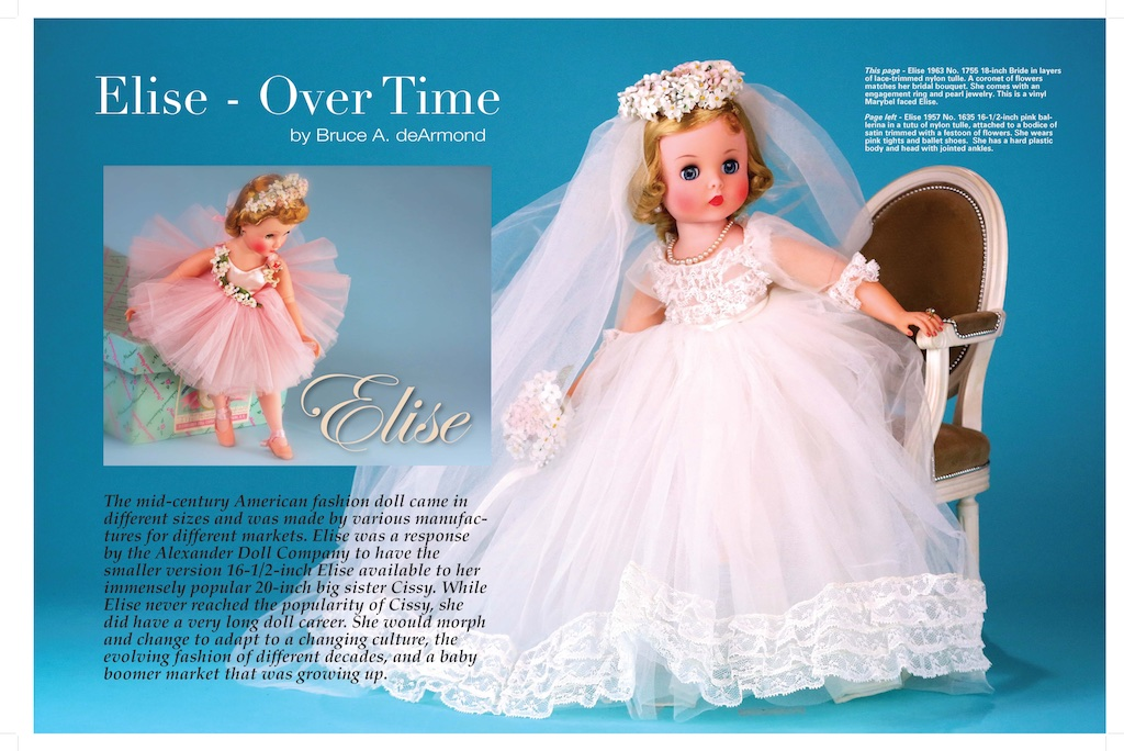New article for UFDC and their Summer 2017 DOLL MAGAZINE... fourteen pages and 43 images.