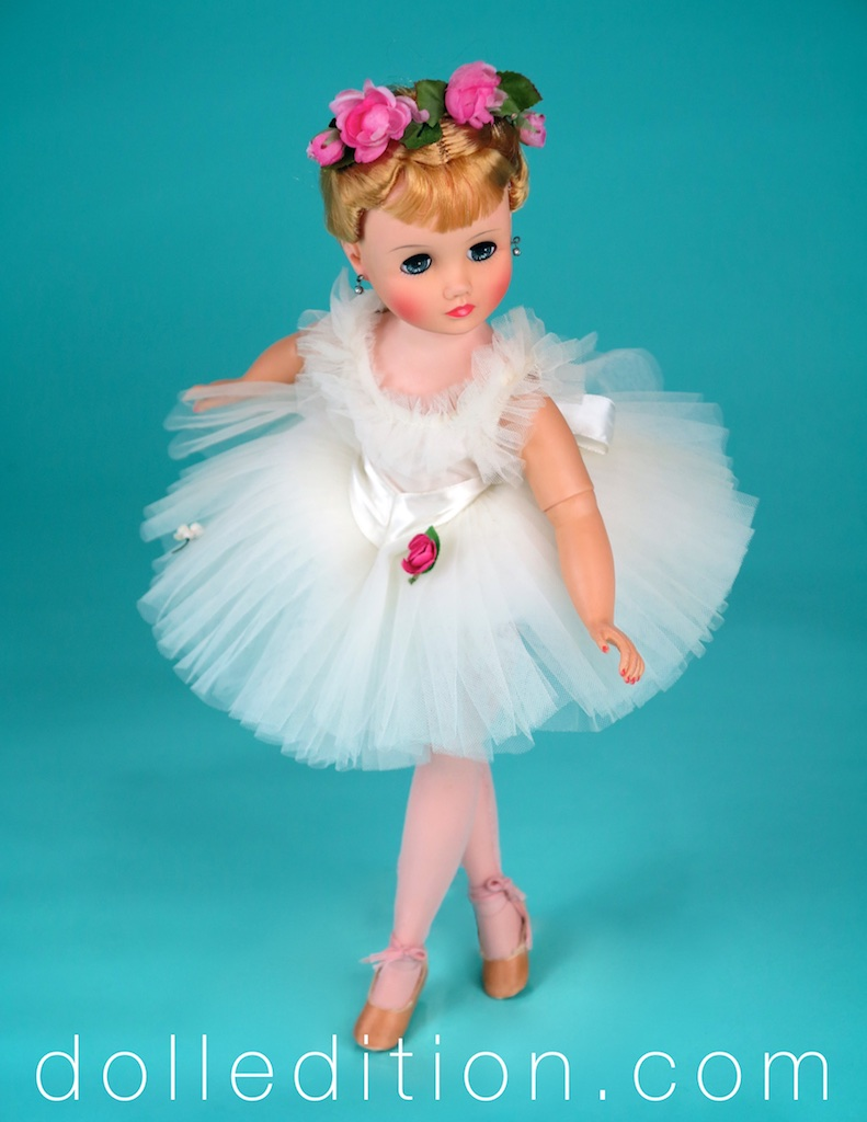 "Elise 18"" White Ballerina 1964 No.1720"